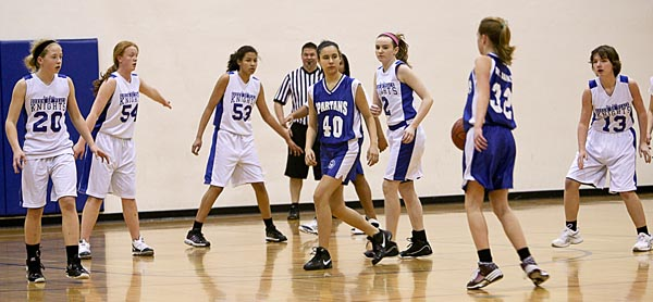 2012 MAISL 8th Grade Girls Basketball