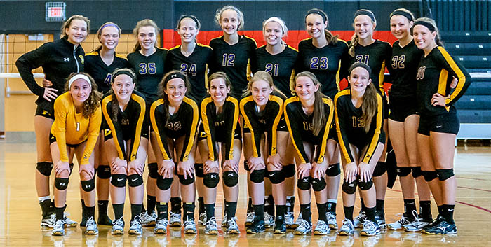 DeForest High School Varsity Volleyball Team